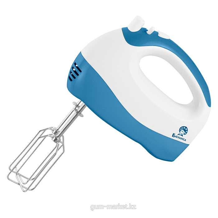 Василиса МК1-300 Миксер электрический белый с синим
